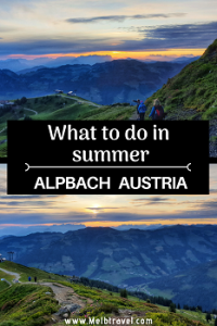 What to do in summer in alpbach