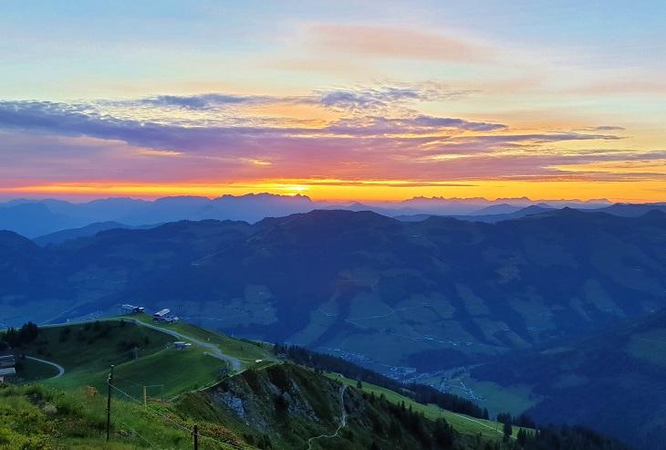 Sunrise Hike Alpbach Austria