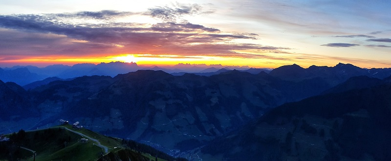 Sunrise hike top things to do in summer Alpbach Austria