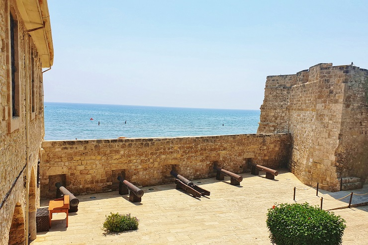 Inside Larnaca Castle -Top things to do Larnaca Cyprus
