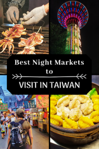 Best night markets in Taiwan