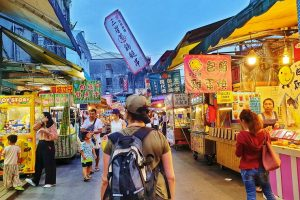 Taiwan night markets Asia