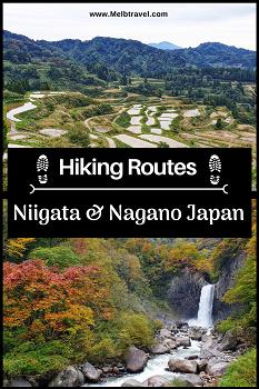 Hiking Routes of Niigata & Nagano Japan