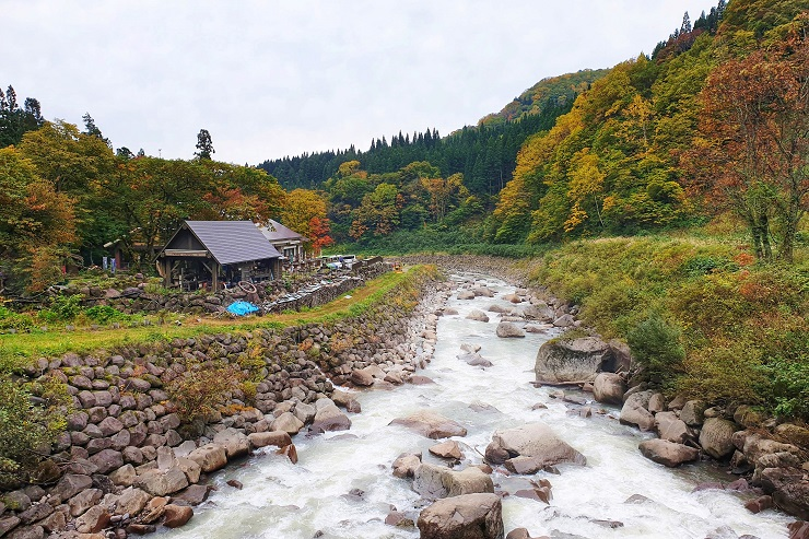 Naena Falls Hike Myoko Japan
