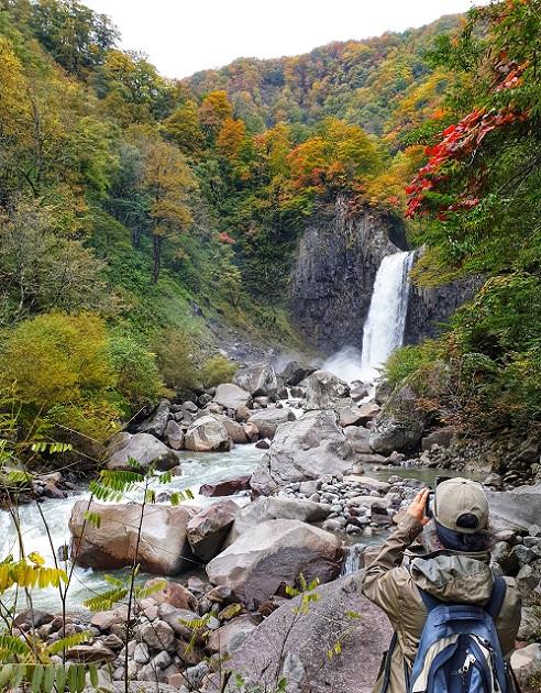 Naena Falls trekking - Myoko Niigata Japan