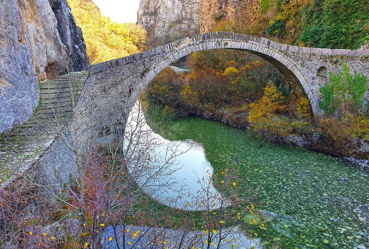 Top things to do Visit stone bridge sIoannina Greece
