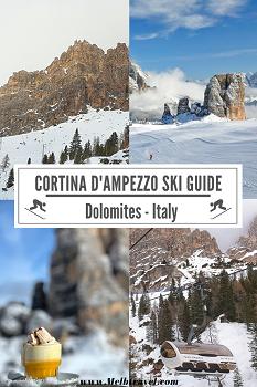 Cortina Dolomiti Italy Skiing