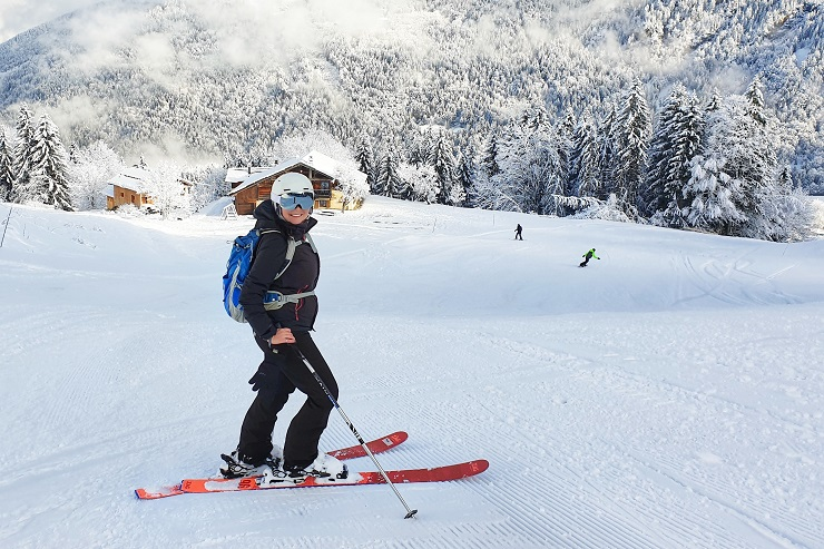 Saint-Gervais France - Skiing with a pacemaker and ICD
