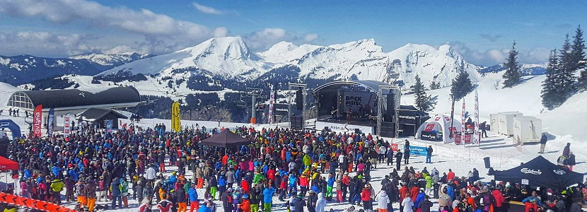 Rock the Pistes lineup Avoriaz