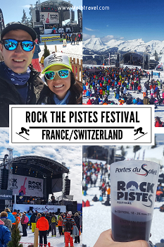 Rock the Pistes Festival France Switzerland Skiing PDS
