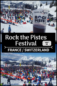 Rock the Pistes Festival PDS Skiing