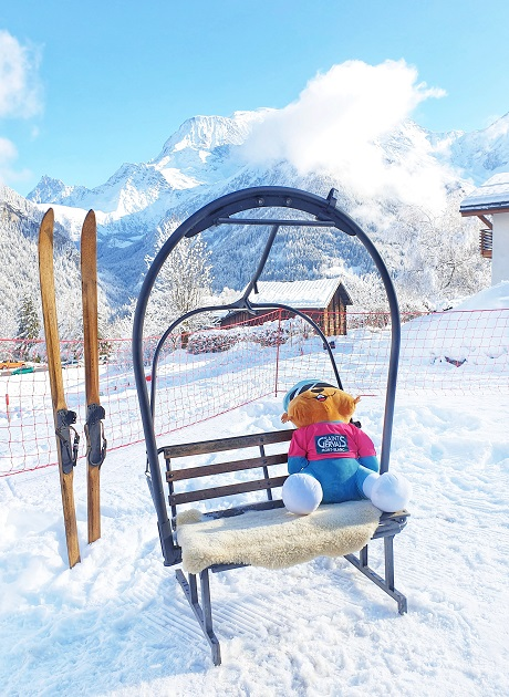Saint Nicolas De Véroce Saint-Gervais Ski area France Skiing