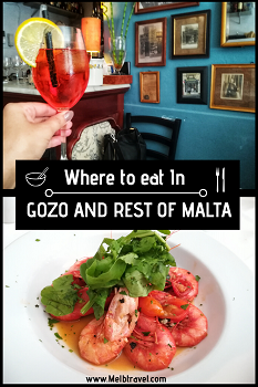 The best places to eat in Gozo and Malta