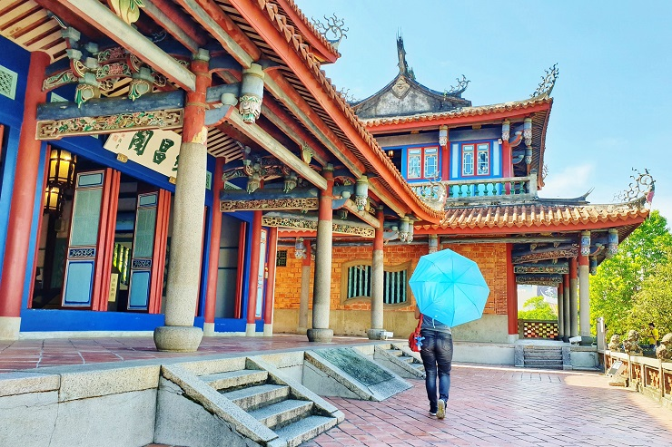 Historical sites to see in Tainan Chihkan Tower