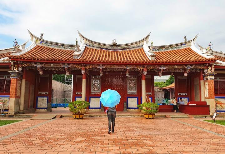 Confusican Temple historical landmark Tainan Taiwan