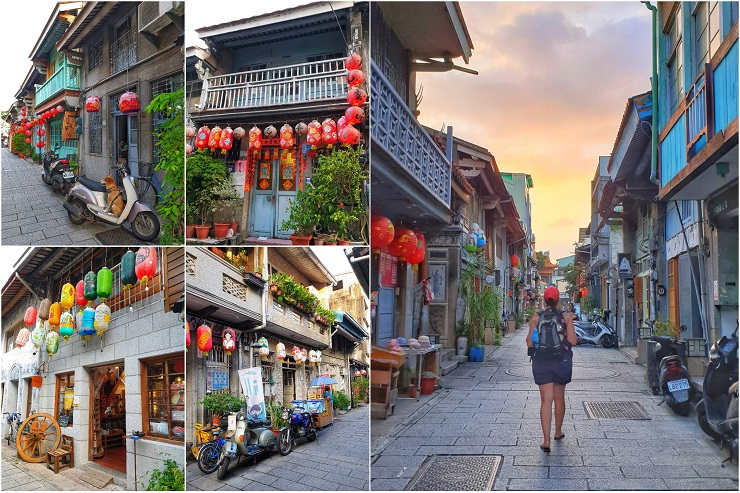 Historical Places to see Shennong St Tainan Taiwan