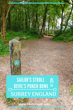 Hikes at Sailor's Stroll Devil's Punch Bowl England