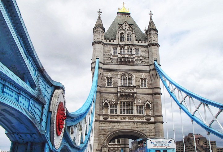 Crossing Tower Bridge London England History