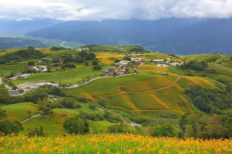 Lishishi MountainHualien Taiwan