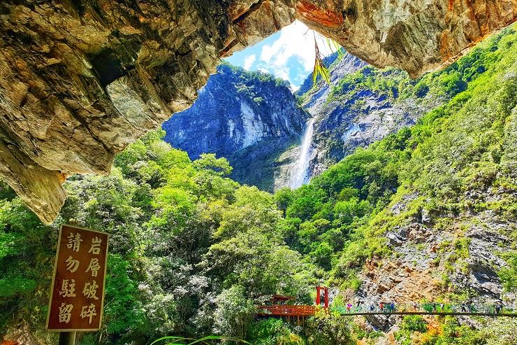 Outdoor activities Taroko National Park Haulien Taiwan