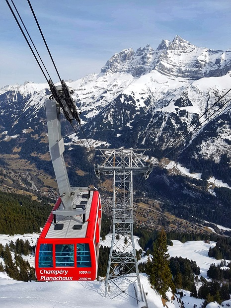 Things to do in Winter Champery Skiing Switzerland PDS