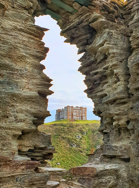 Camelot Castle Hotel consider staying in a hotel when visiting Tintagel Castle