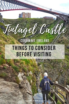 Things to consider before visiting Tintagel Castle Cornwall England