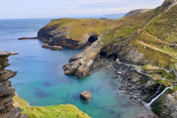 Tintagel Beach Cornwall England history