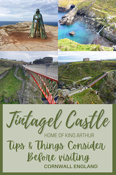 Tips to consider before visiting Tintagel Castle Cornwall England