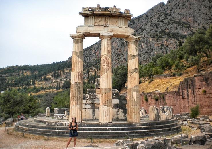 Sanctuary of Athena Pronaia Delphi Greece Europe History
