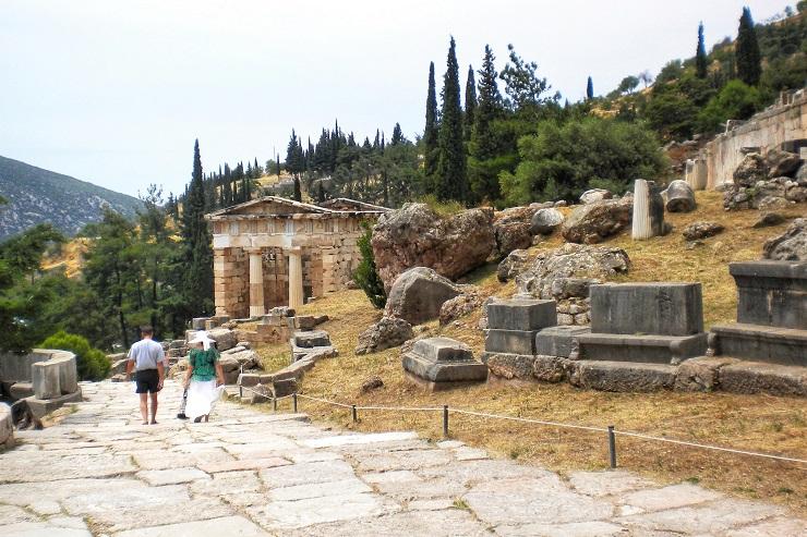 Treasury of the Athenians Delphi Greece Europe History