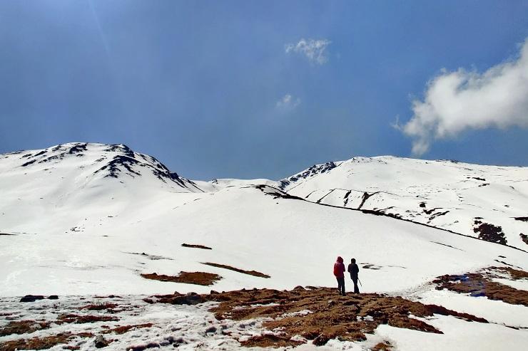Kuari pass enroute India Hiking