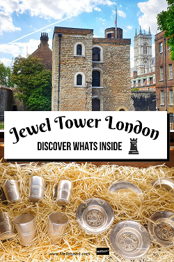 Visiting The Jewel Tower London England History