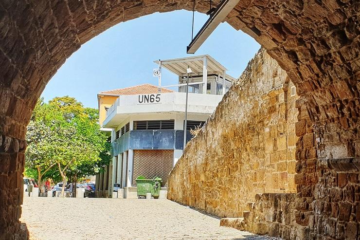 Paphos Gate Nicosia Cyprus