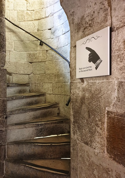 The Spiral Staircase discover inside the Jewel Tower London England