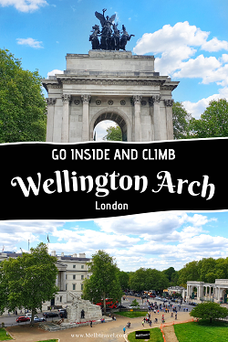Discover whats inside Wellington Arch London History