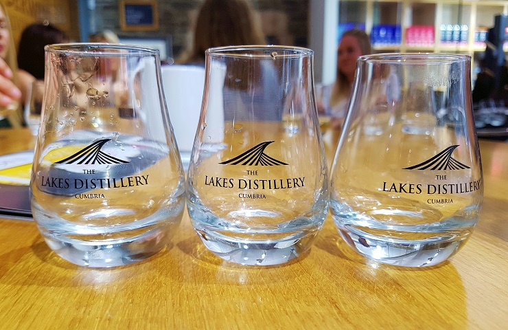 Whiskey Tasting The Lakes Distillery Lakes District Cumbria England UK
