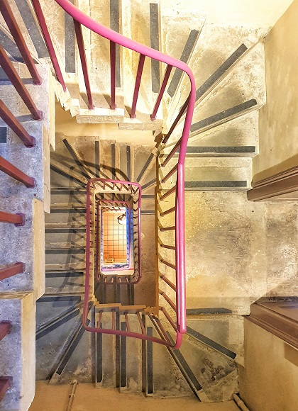 Spiral Staircase inside Wellington Arch London History