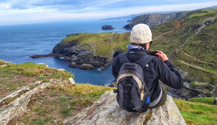 Take a coastal walk - One of the things to do outside Tintagel