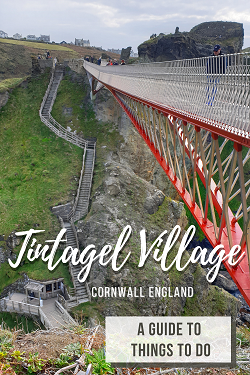 Things to do in Tintagel Village Cornwall England
