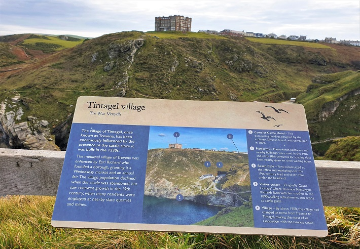 Visit Tintagel Island one of the top things to do